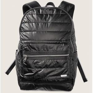 VS Pink Quilted Taffeta Backpack